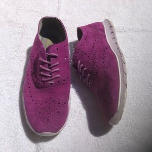 Cole Haan Zero Grand Purple Shoes